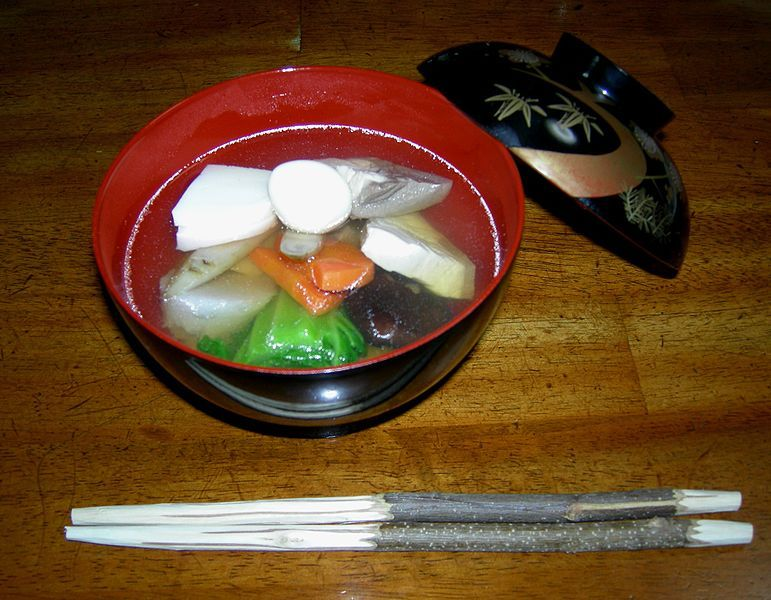 food of the samurai zoni