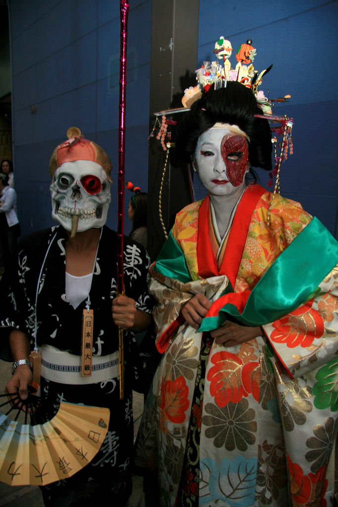 halloween geisha
