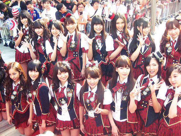 AKB48 top jpop artists 2011