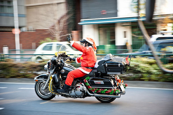 Japanese santa claus