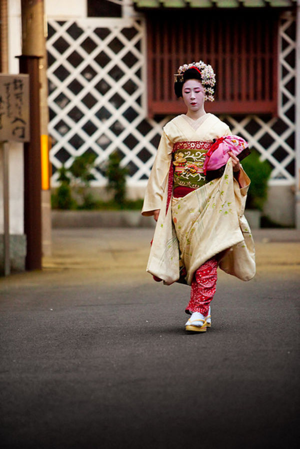 Maiko in japan