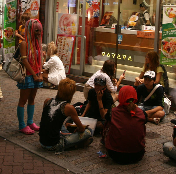 Yamanba fashion in Shibuya