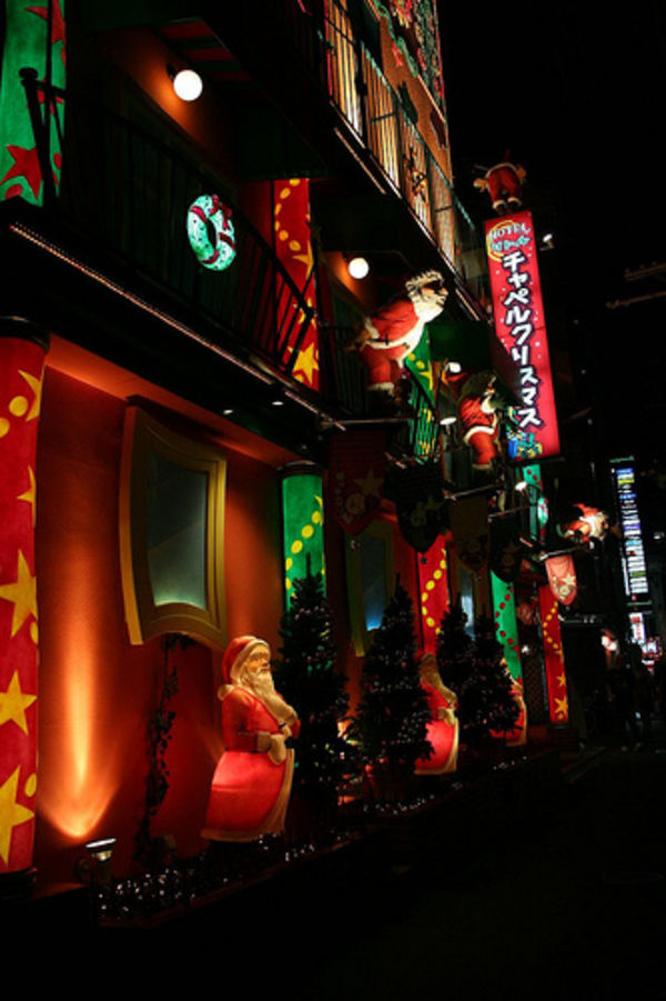 christmas love hotel in japan