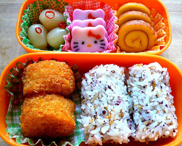 cute hello kitty food