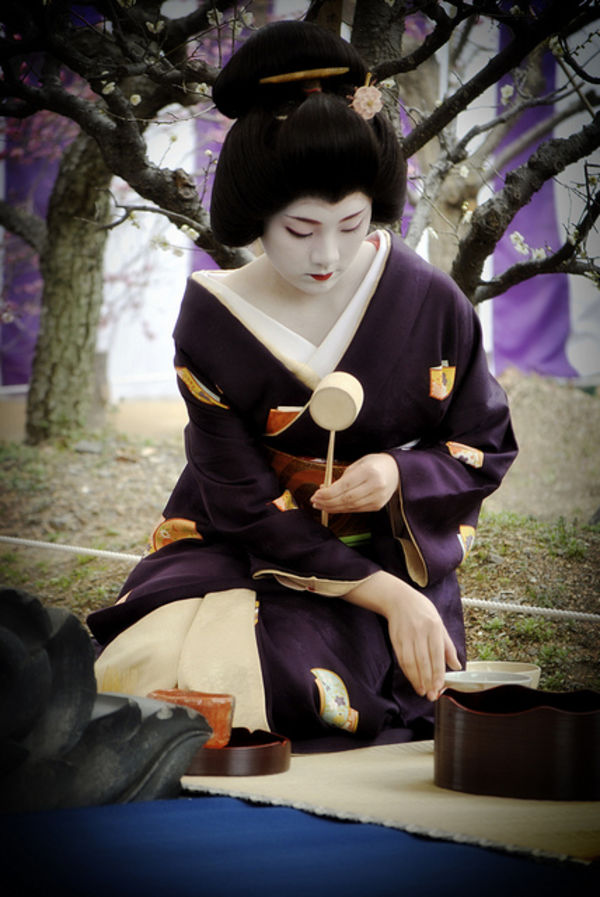 geisha kimono