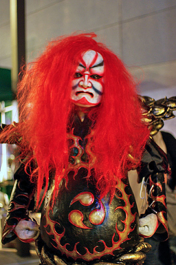 halloween demon costume japan