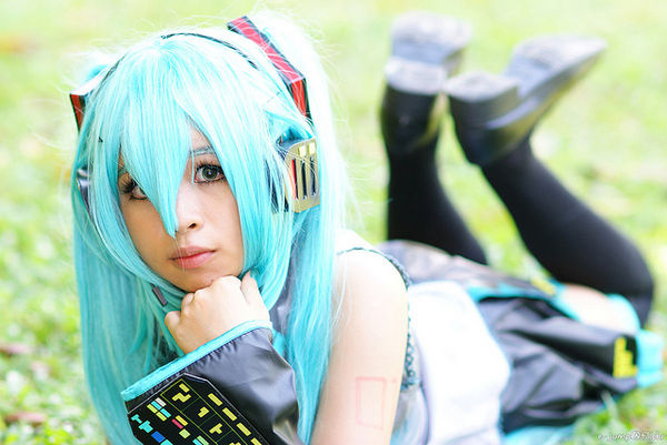 hatsune miku cosplayer