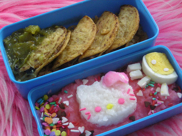hello kitty mexican bento