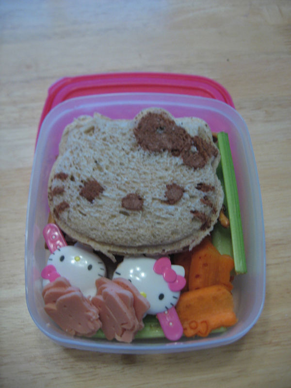hello kitty sandwitch