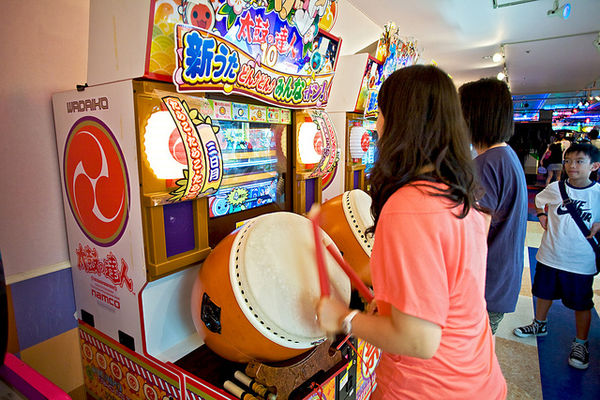 japanese arcade kids