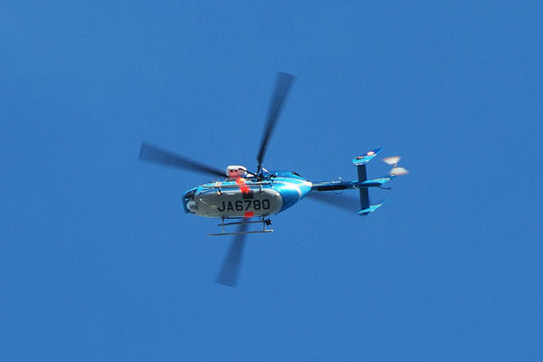 japanese police helicopter