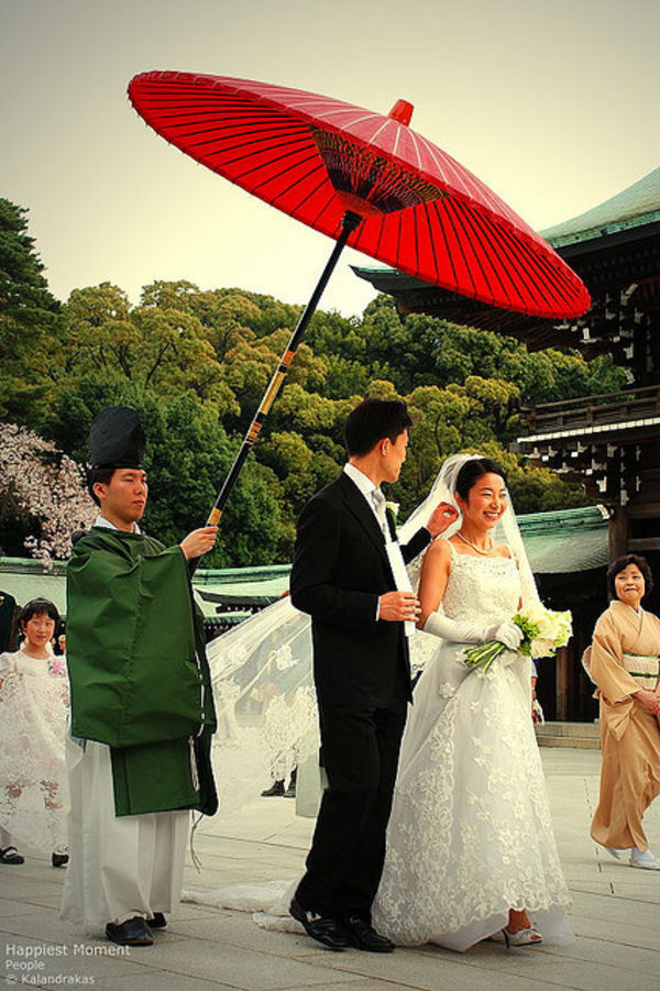 japanese wedding mix of influences