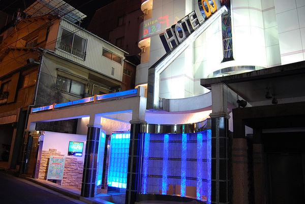 love hotel in Shibuya Tokyo Japan