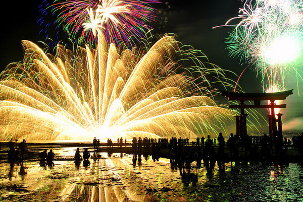 miyajima water fireworks festival