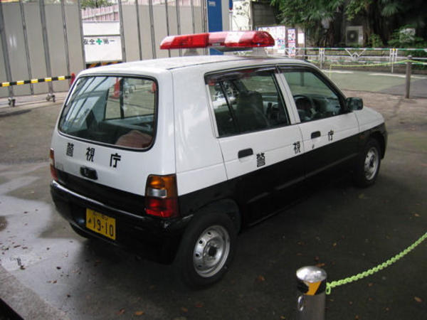 police kei car
