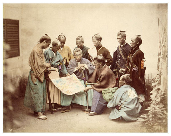 samurai during boshin war 1862