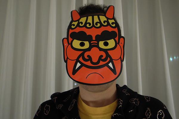 setsubun devil masks