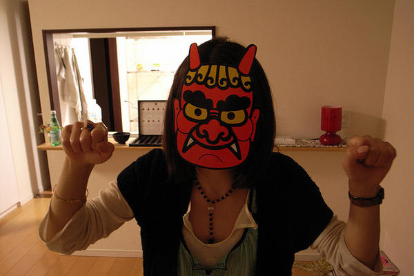 setsubun paper mask