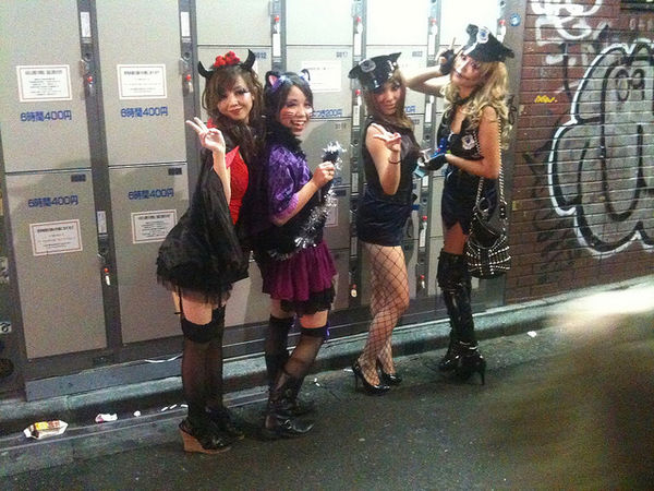 shibuya halloween