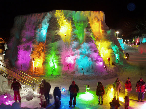 shikotsu lake ice festival