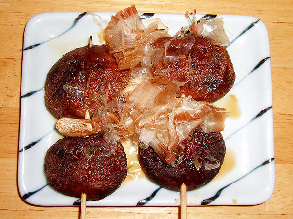 shitake takitori