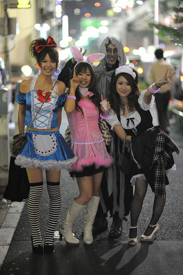 tokyo halloween nights