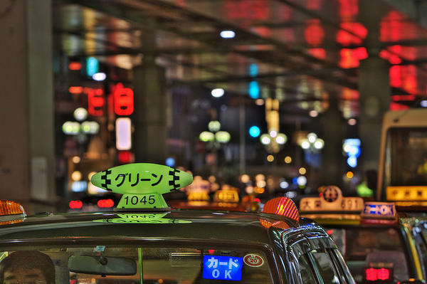tokyo taxi