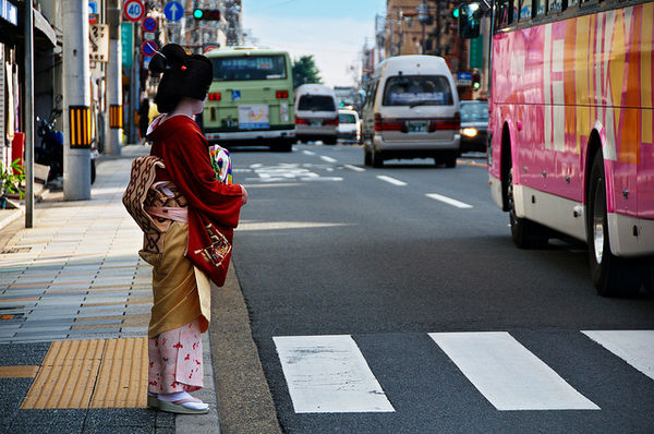 where to photograph geisha