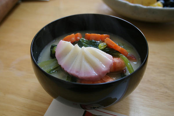 zoni japanese soup