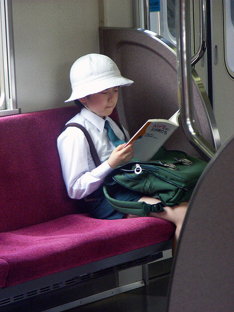 train kid
